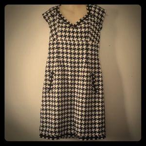 Jessica Howard houndstooth dress